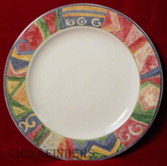 SAKURA china MALAGA pattern DINNER PLATE