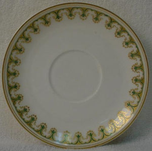 HAVILAND china SCHLEIGER 786 pattern SAUCER