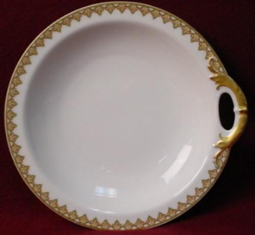 HAVILAND china THE MONACO Schleiger 295 BON BON bonbon DISH 1-Handled