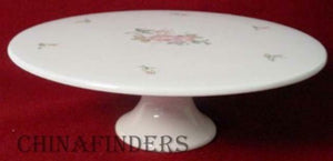 GORHAM china LADY ANNE no trim FOOTED CAKE STAND PLATE