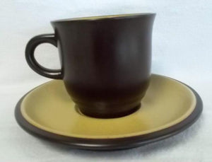 NORITAKE china SAFARI 8501 pattern CUP & SAUCER SET