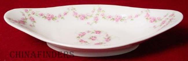 BERNARDAUD Delinieres china BER394 Relish Dish