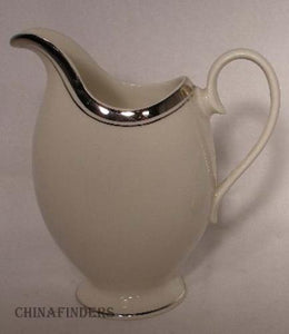 ANCESTRAL china WEDDING BAND pttrn Creamer Pitcher Jug