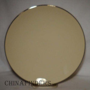 FLINTRIDGE china BELLMERE coupe china Salad or Dessert Plate 8 5/8""