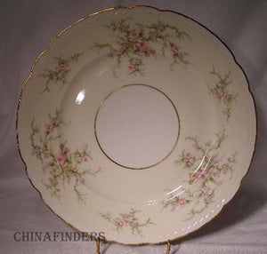 ARCADIAN china OLD ROSE Dinner Plate