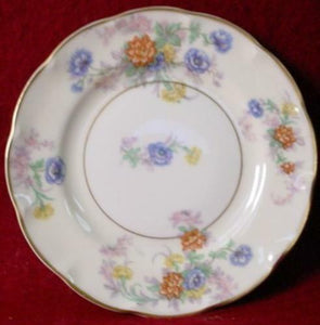 HAVILAND china ORLEANS floral BREAD PLATES Set of 2!!!
