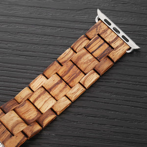 Natural Wood Grained - My Apple Watch Band