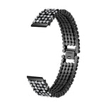 Stainless Steel 5 Balls Rhinestone Watch Strap 38mm - My Apple Watch Band