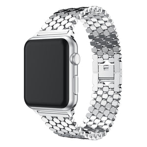 Honeycomb Stainless Band - My Apple Watch Band