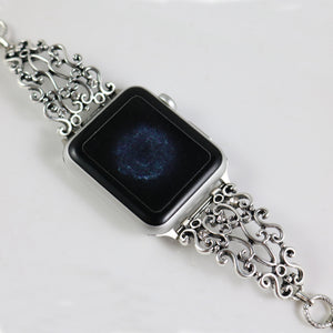 Vintage Link Carved Bracelet for Apple Watch - My Apple Watch Band