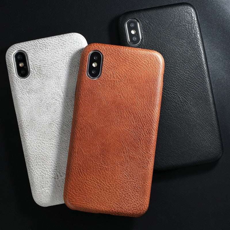 Soft Leather iPhone Case - My Apple Watch Band
