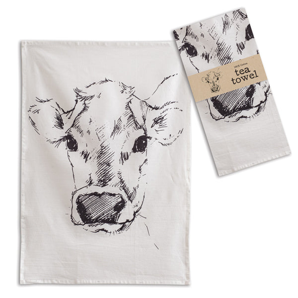 Calf Tea Towel