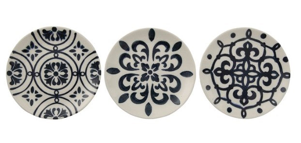 Blue & White Hand Painted Plates