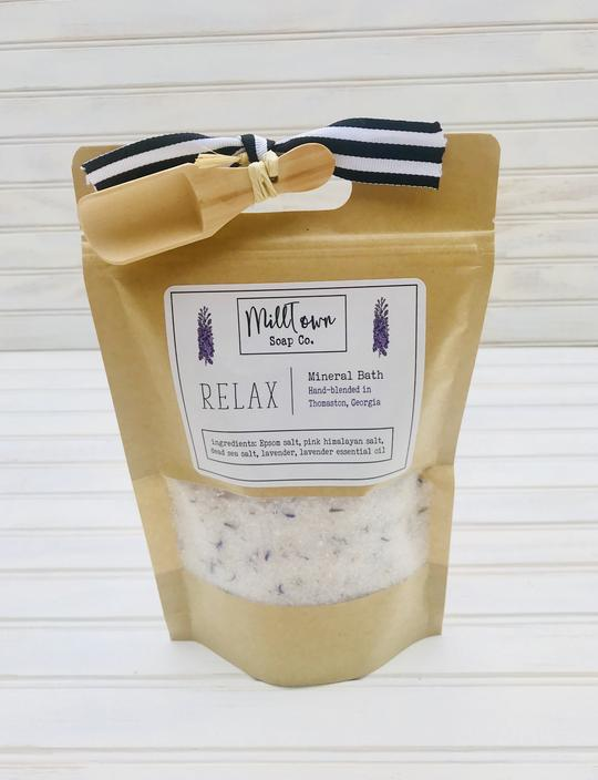 Relax Milltown Soap Co. Bath Salt