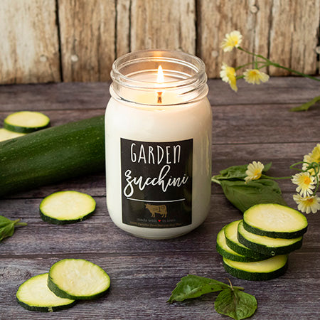 Farmhouse Mason Jar: Garden Zucchini (13oz)