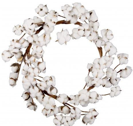 "23"" Cotton Wreath"