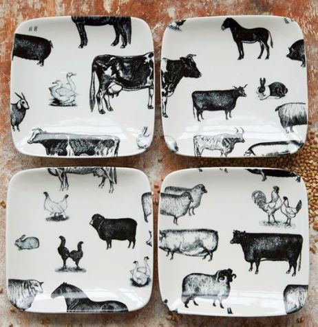 Farm Animal Dishes