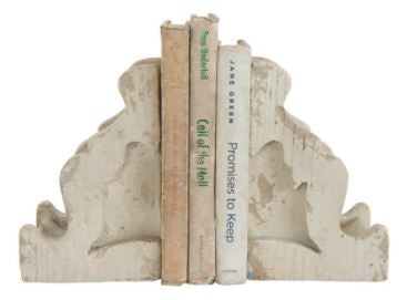 Distressed Corbel Bookends (Pair of 2)