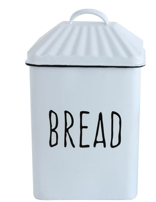 Medium Enamel Bread Box
