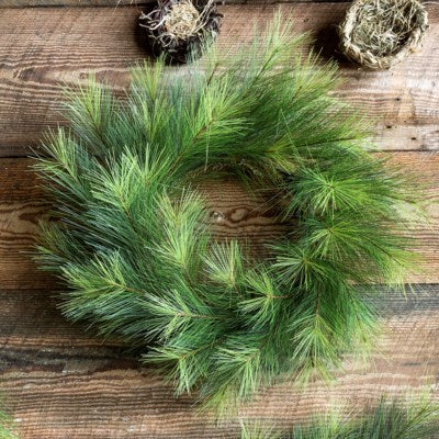 Greenhills Pine Wreath, 24""