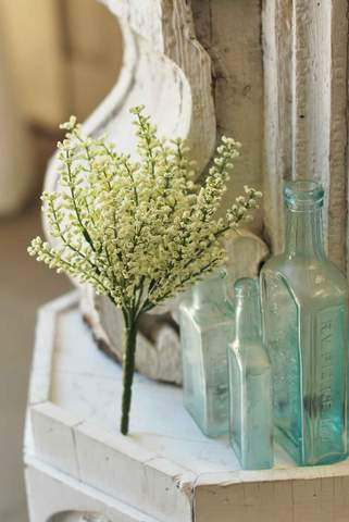 Bursting Astilbe Pick, White