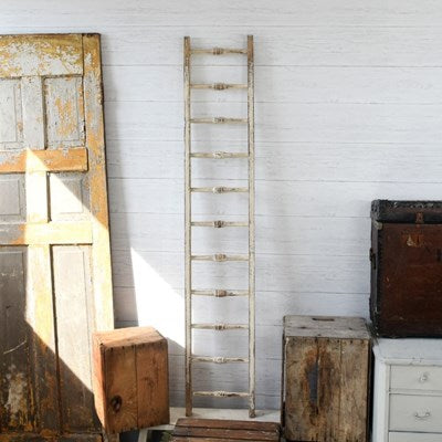 Vintage Inspired Wooden Ladder (In-Store Pickup Only)