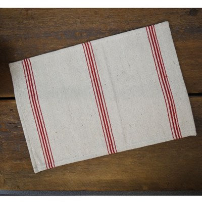 Red Striped Placemat