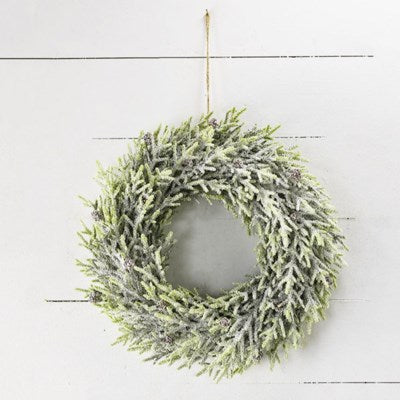 Full Faux Evergreen Wreath