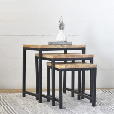 Wooden and Metal Tables