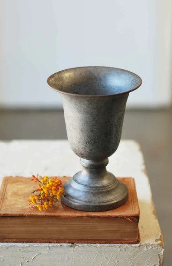 Foundry Urn, Pewter in Color