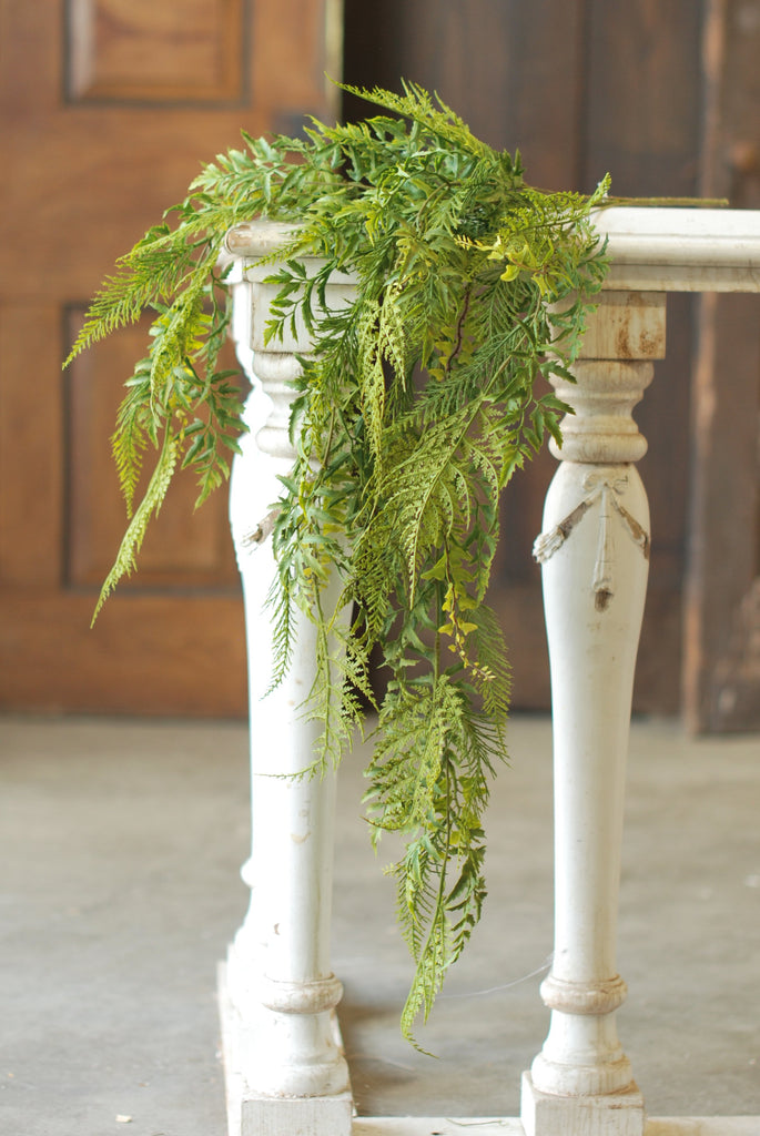 "35"" Hanging Deer Fern"