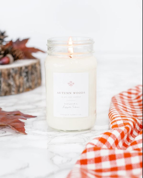 Autumn Woods 16oz Candle