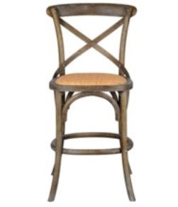 Bennett Crossback Bar Stool, Counter Height (In-Store Pickup Only)