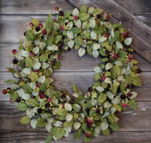 Blackberry Bush Wreath