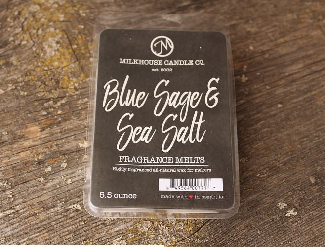 Blue Sage & Sea Salt-Fragrance Melt (5.5oz)