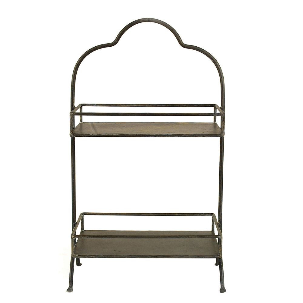 Metal 2-Tier Arch Tray
