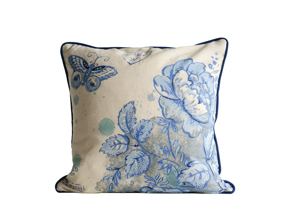 Blue Bliss Pillow