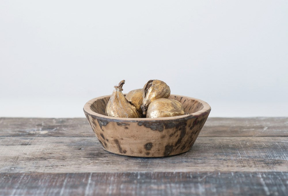 Golden Resin Figs (Set of 5)