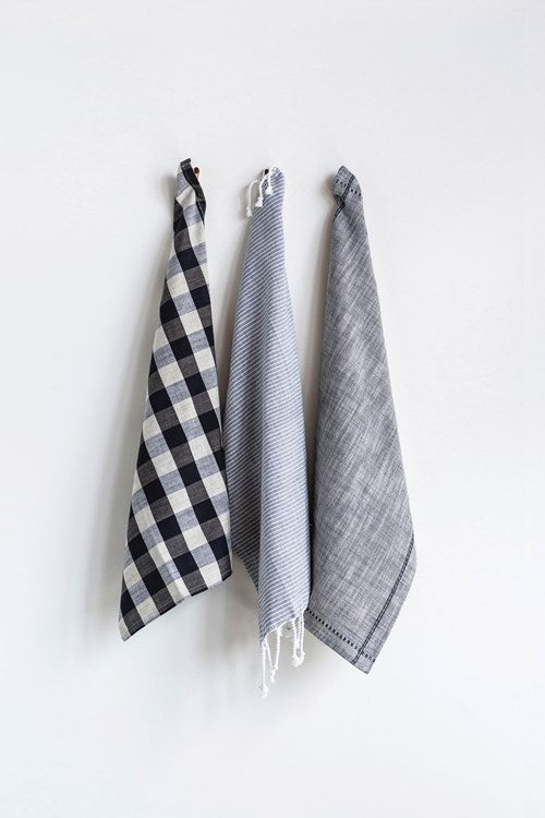 Mod Cotton Tea Towels (Set of 3)