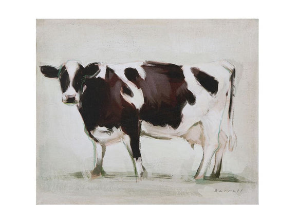Dairy Cow Canvas Painting
