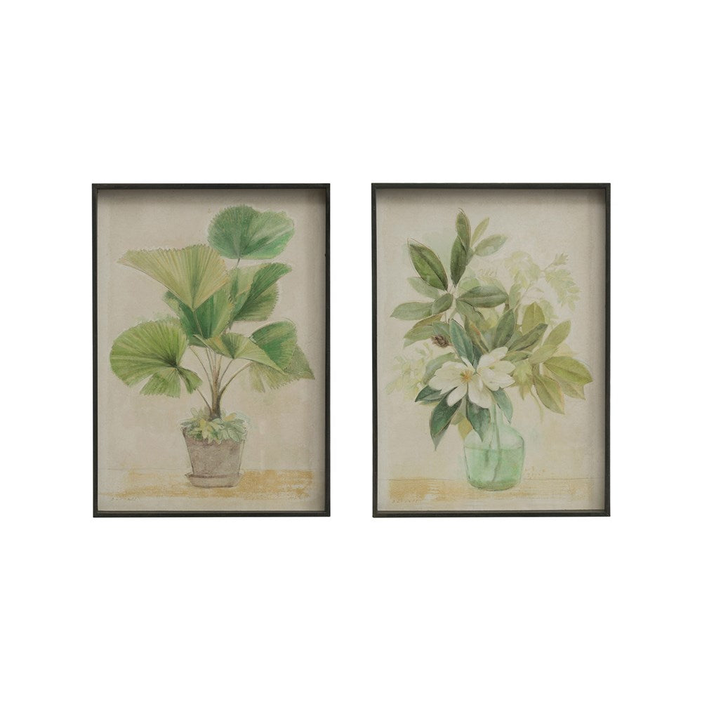 Botanical Framed Wall Decor