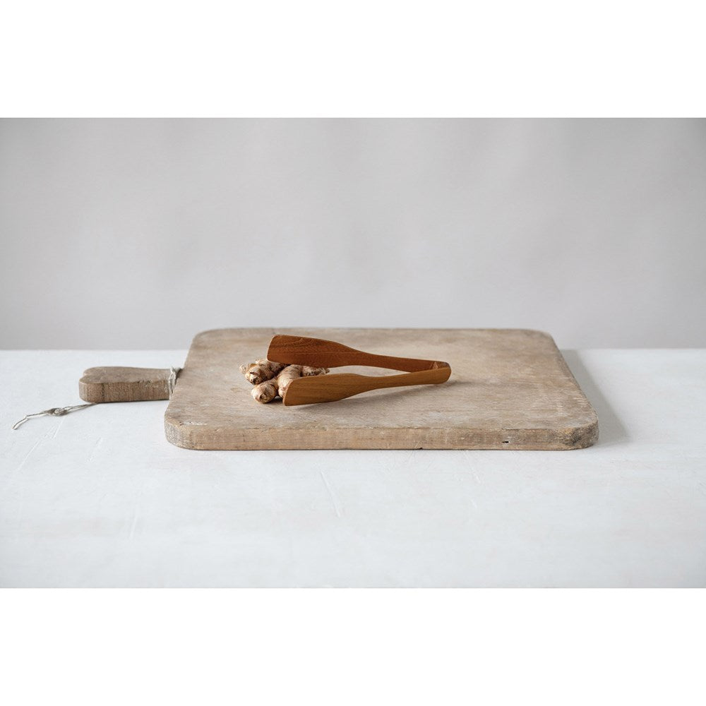 Teak Wood Tongs