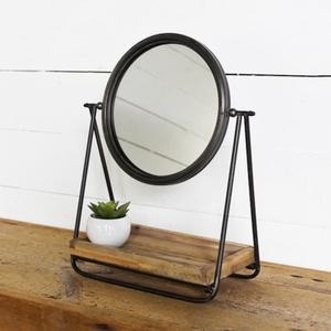 Loft Mirror with Tray