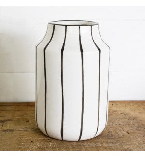 Wide Stripe Vase