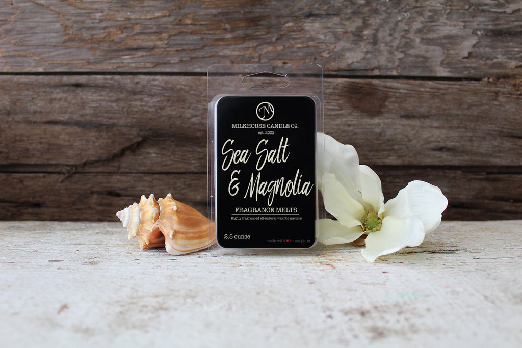 Sea Salt & Magnolia-Fragrance Melt (2.5oz)