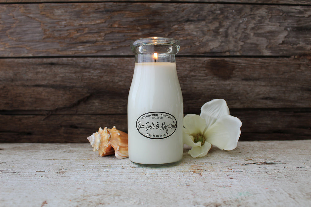 Sea Salt & Magnolia Candle (8oz)