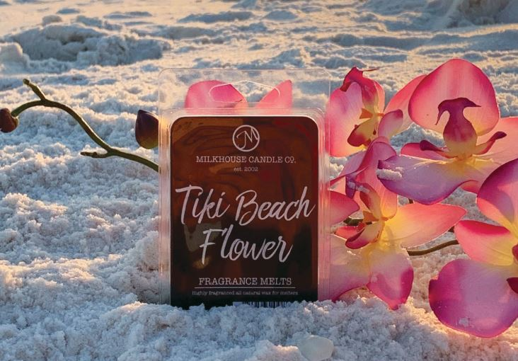 Tiki Beach Flower-Fragrance Melt (2.5oz)