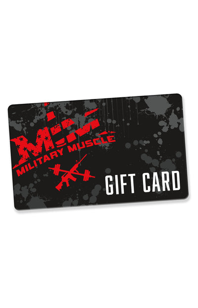 Digital Gift Card - Military Muscle