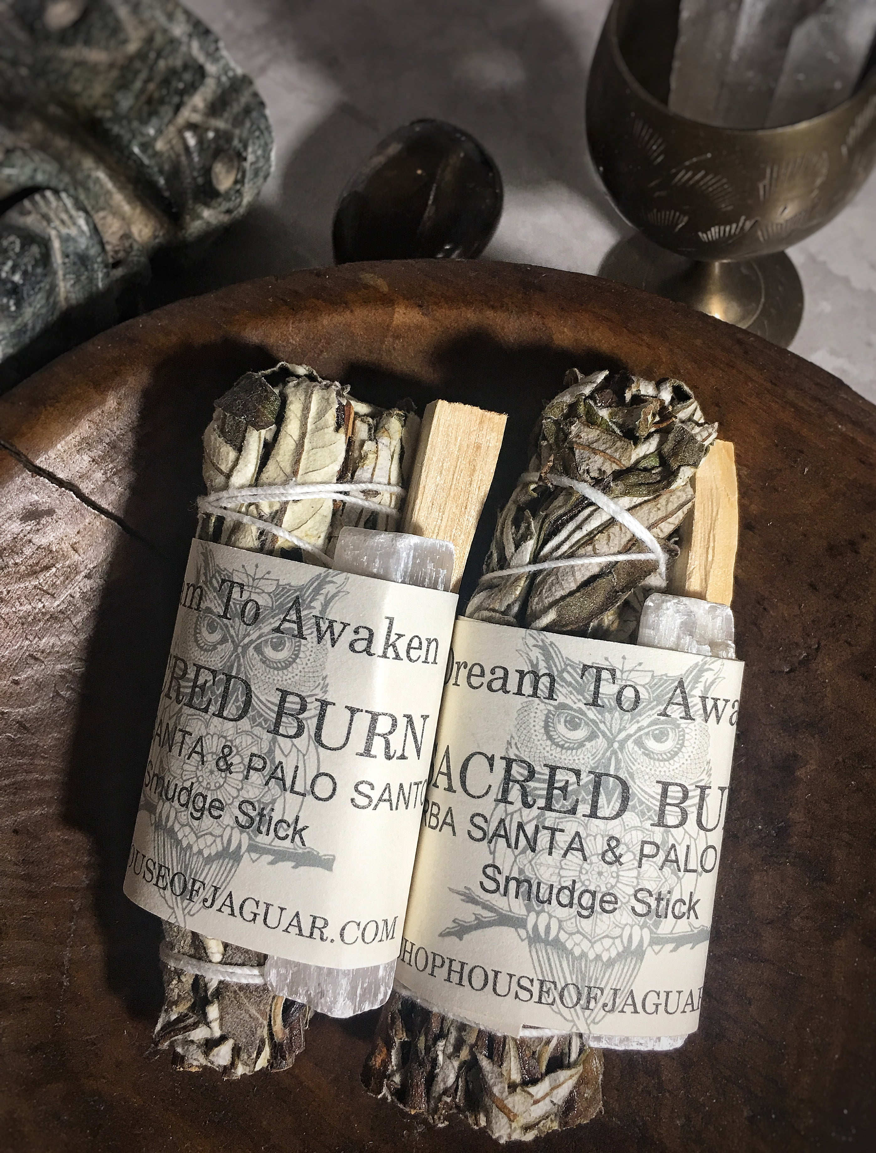 Sacred Burn - Yerba Santa, Palo Santo and Selenite