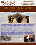 Dream Spirit Journey to Teotihuacan Mexico - June 10 - 16, 2020